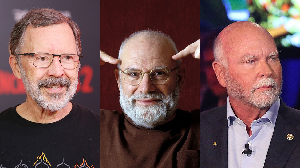 Ed Catmull, Oliver Sacks y Craig Venter