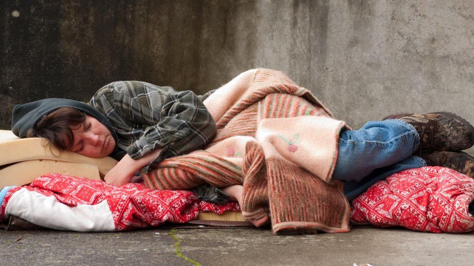 Council spending on single homelessness 'down by £5bn since 2009'