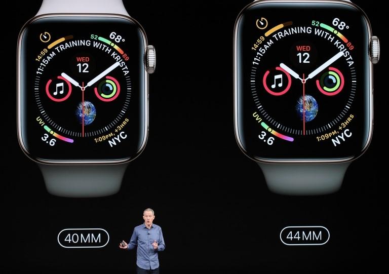 Presentación del Apple Watch 4