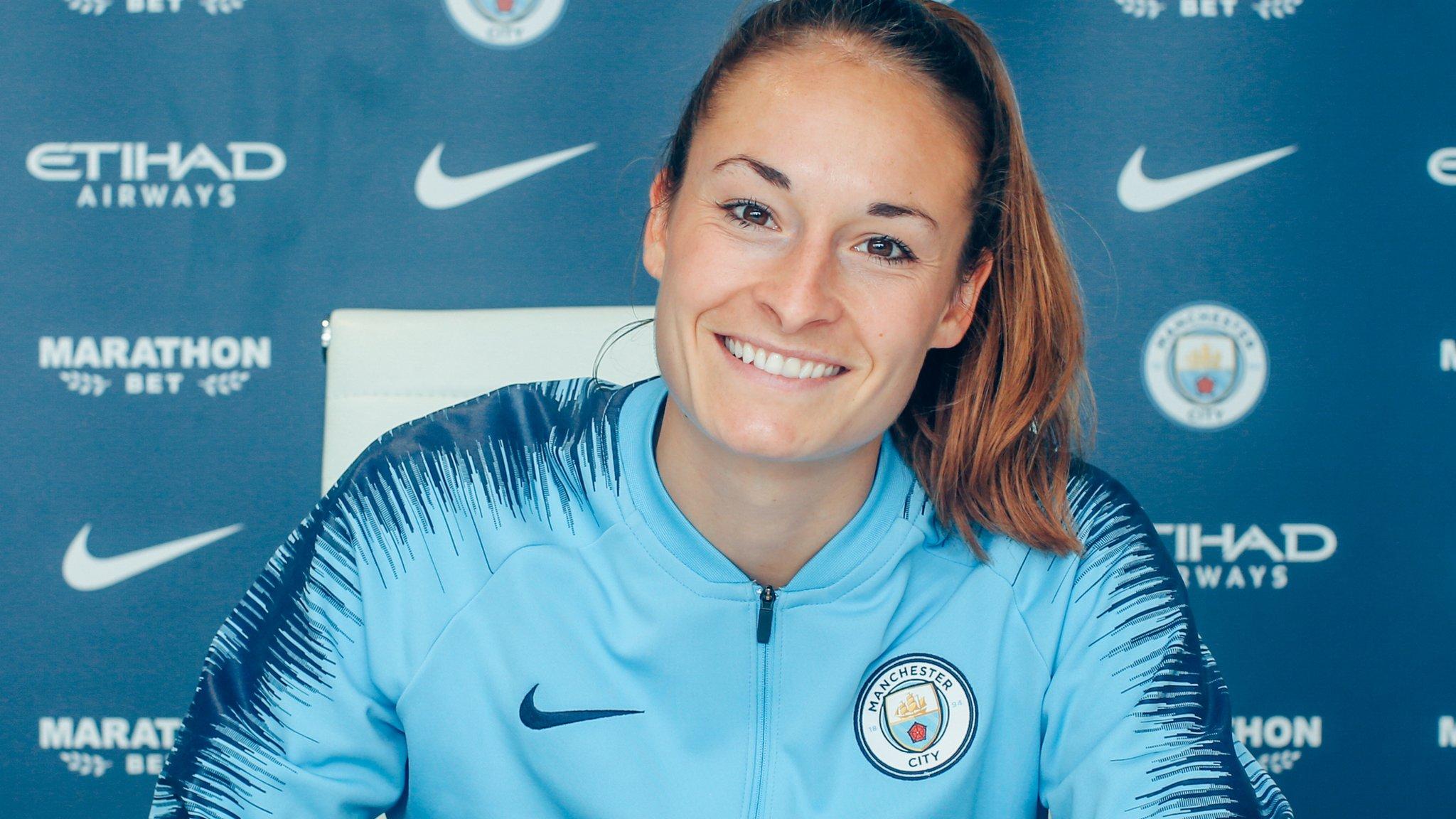 Tessa Wullaert: Manchester City Women sign Belgium's record scorer