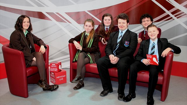 Pupils get ready to go live on News Day