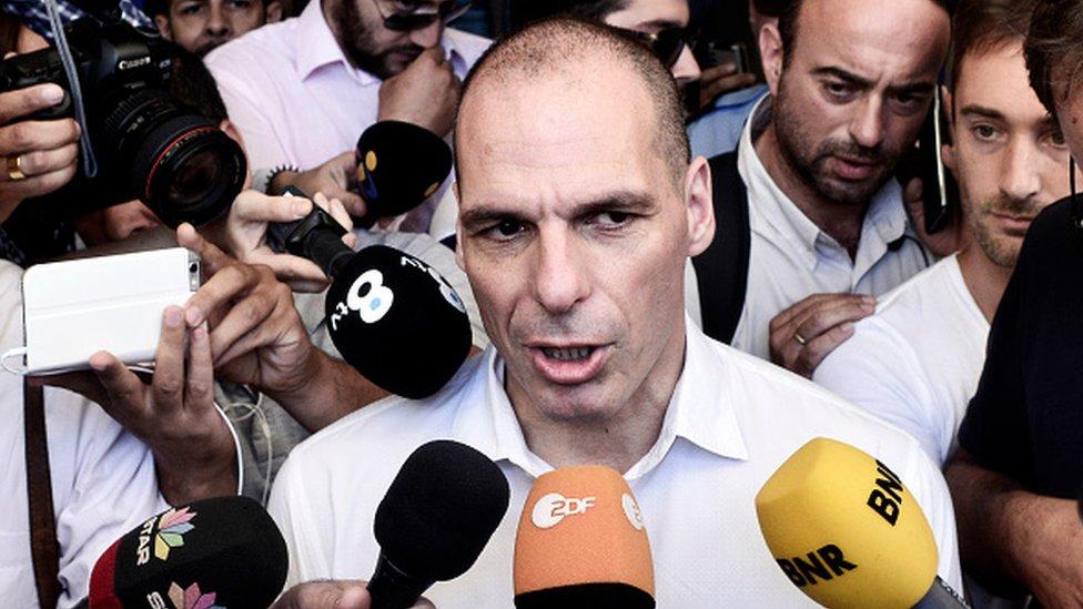 Yanis Varoufakis, exministro de Finanzas de Grecia