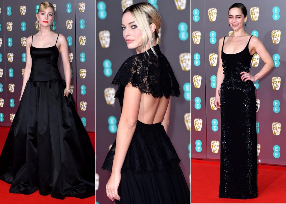 Saoirse Ronan, Margot Robbie and Emilia Clarke