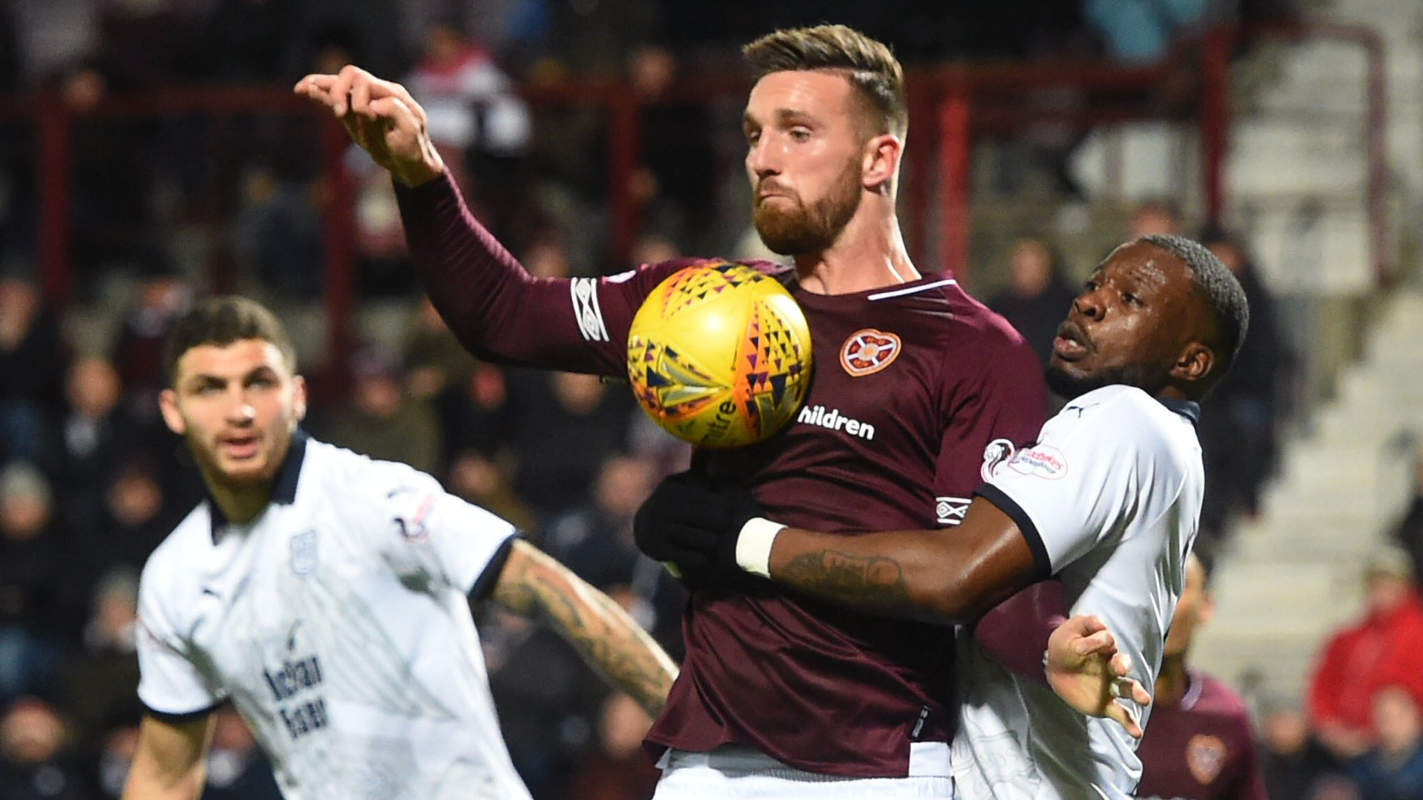 David Vanecek wasn't at the races, says Hearts boss Levein after loss to Dundee
