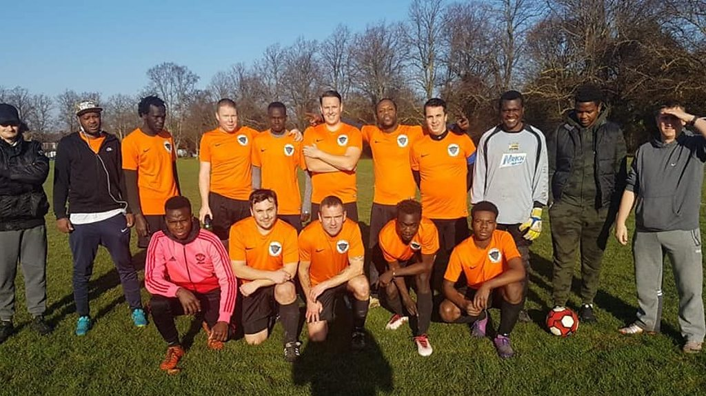 The refugee football team bringing people together