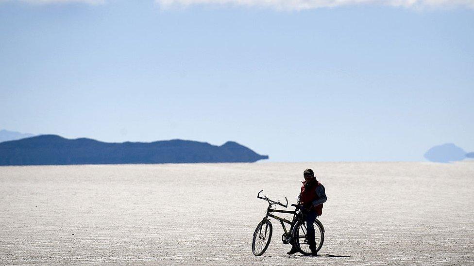 Salt flats, South America