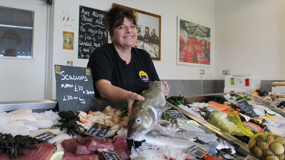 Newlyn fish expert is first UK female master fishmonger