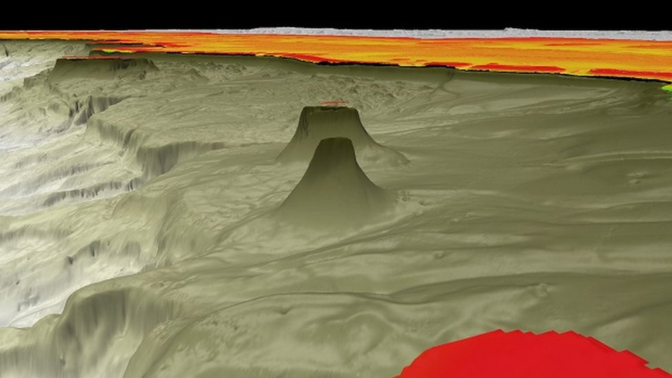 Imagen 3D del nuevo arrecife