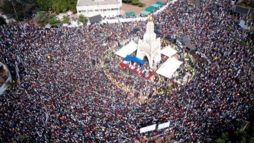 مظاهرات حاشدة في العاصمة باماكو