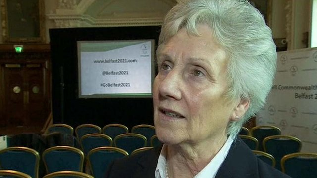 Louise Martin, President of the Commonwealth Games Federation