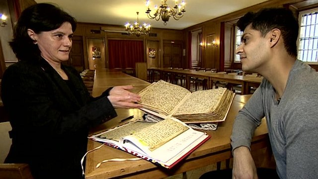 Researcher Alba Fedeli and Inside Out presenter Qasa Alom