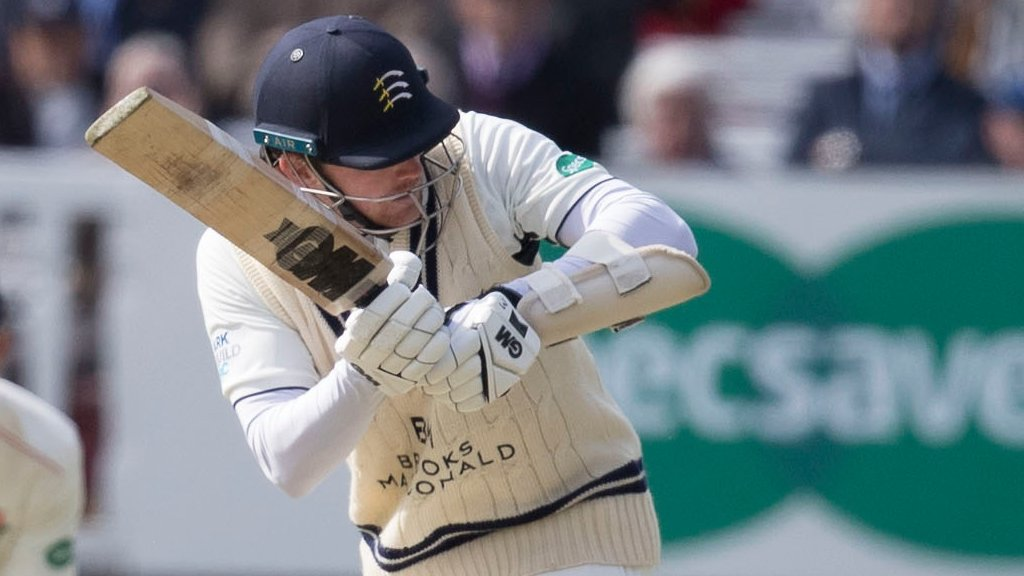 County Championship: Robson gets Middlesex off to solid start against Glamorgan at Radlett