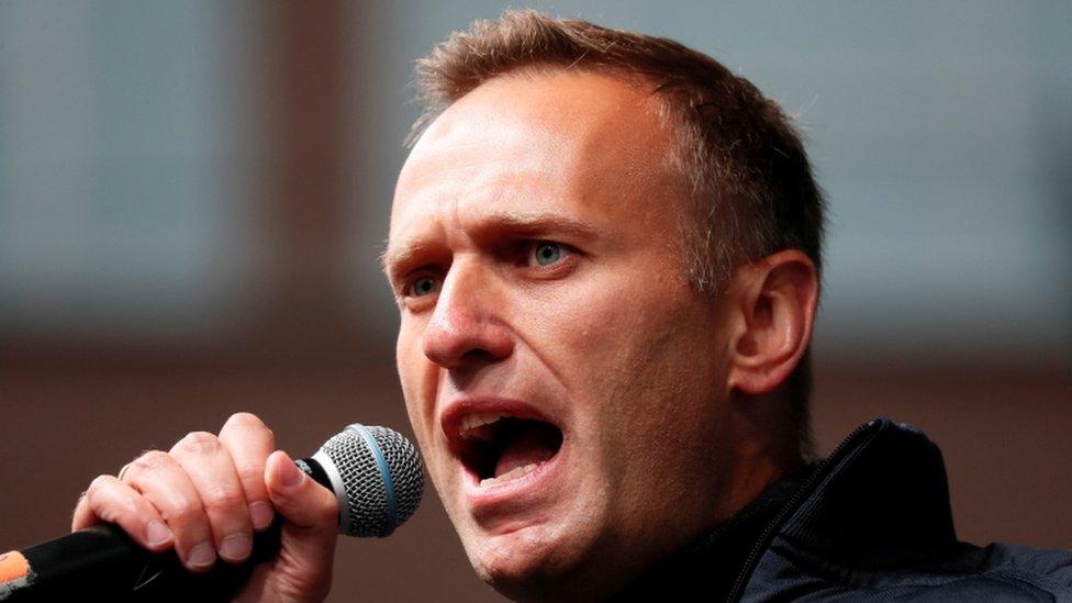 Alexei Navalny foi levado para Berlim para tratamento em agosto, depois de adoecer em um avião