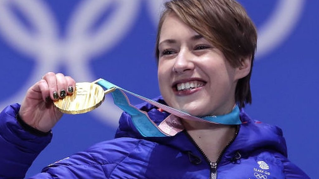 Lizzy Yarnold: Olympic skeleton champion has 'successful' back surgery