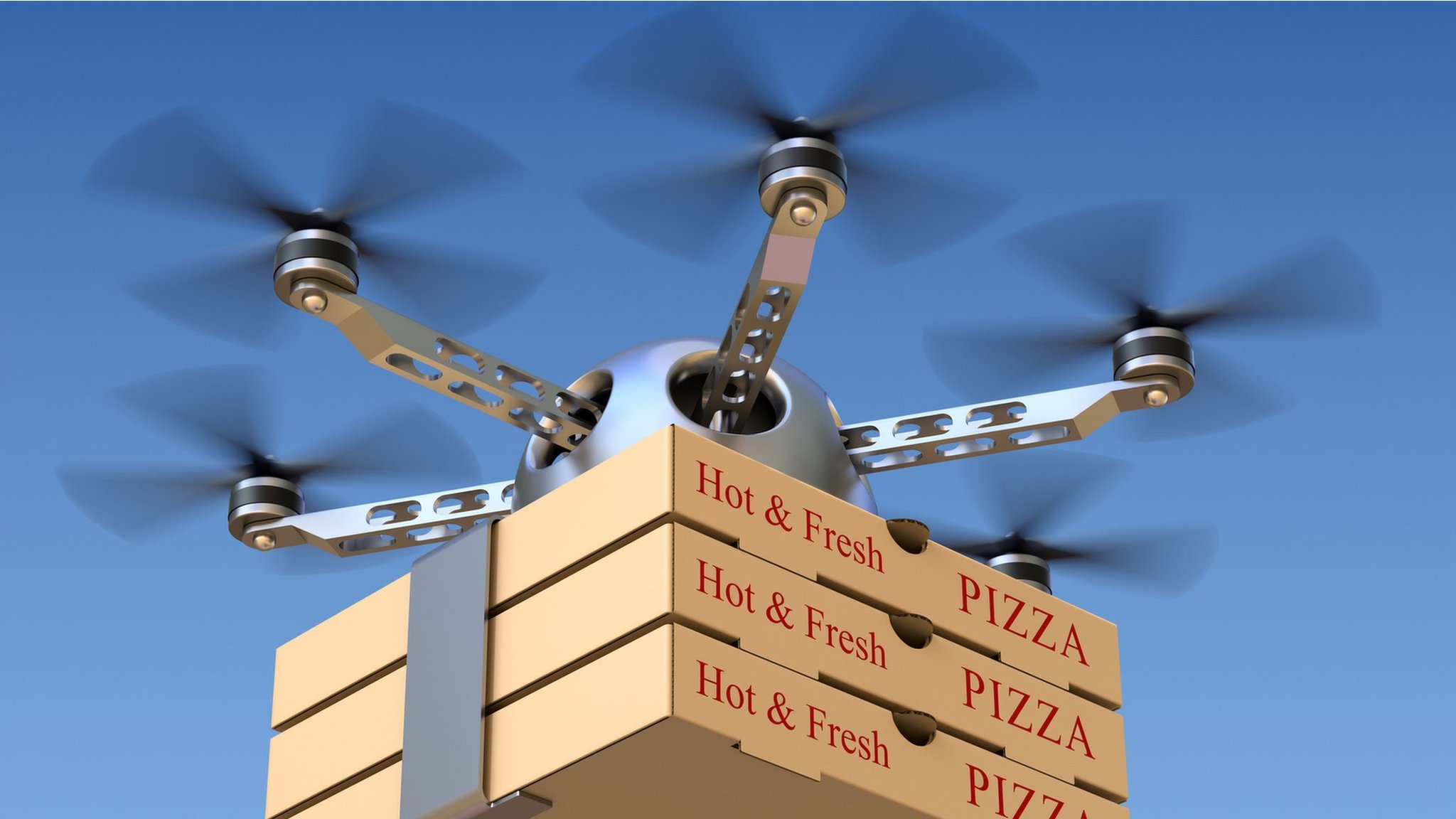 Why your pizza may never be delivered by drone