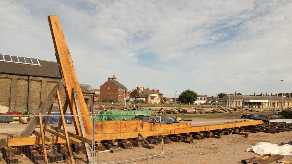 Bau des Bootes