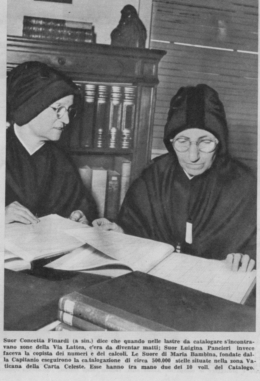 Dos hermanas trabajando