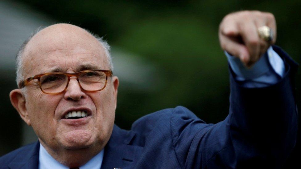 Trump lawyer Rudy Giuliani: Truth isn't truth