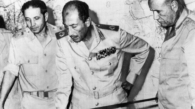 الرئيس السابق أنور السادات