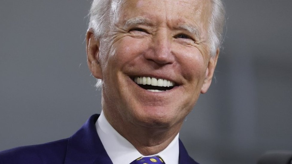 US election: Biden pledges billions to improve racial equality - BBC News