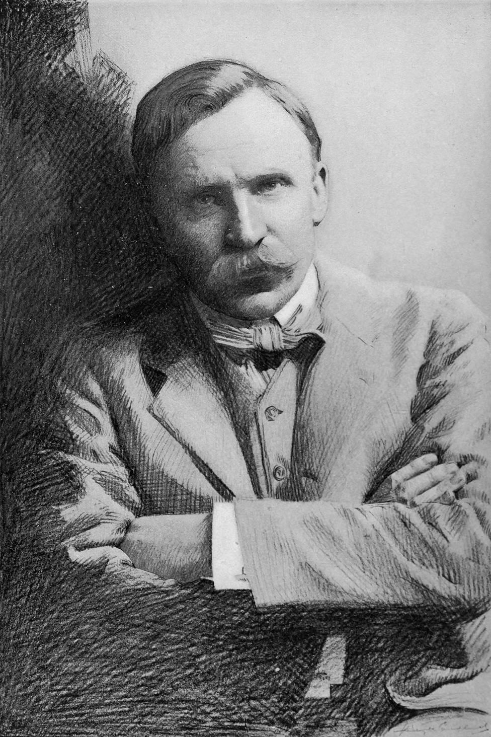 S.S. McClure, ilustración del The Booklovers Magazine, Vol 1 (1903)