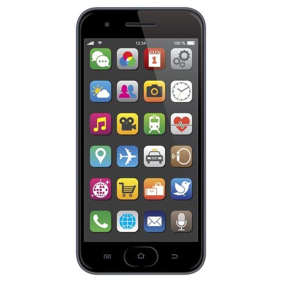 Aplicaciones en un celular.