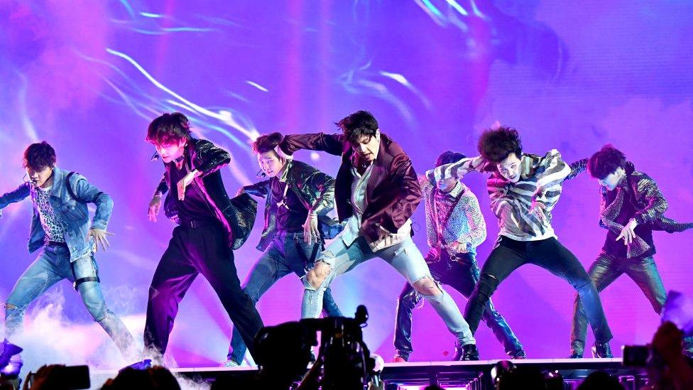 BTS在美國拉斯維加斯演出(20/5/2018)