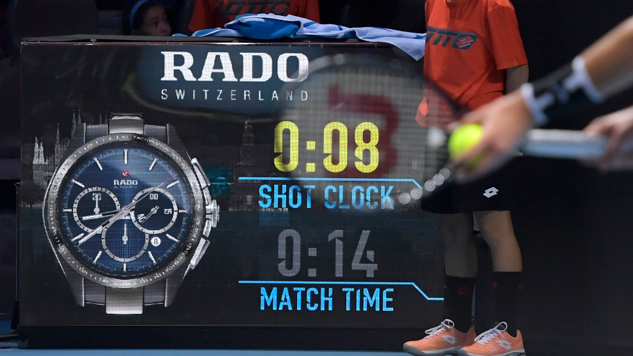 Shot clocks: ATP to use device at all Tour events from 2020
