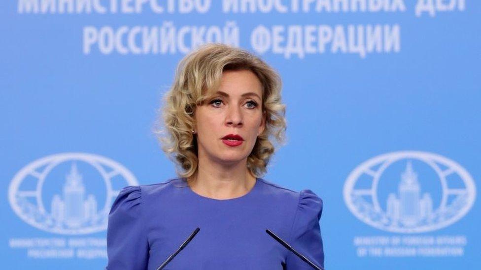Russia's foreign ministry spokesperson Maria Zakharova in 2017