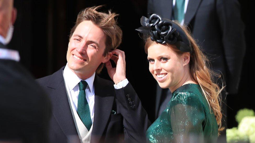Princeza Beatris i Eudardo Mapeli Mozi
