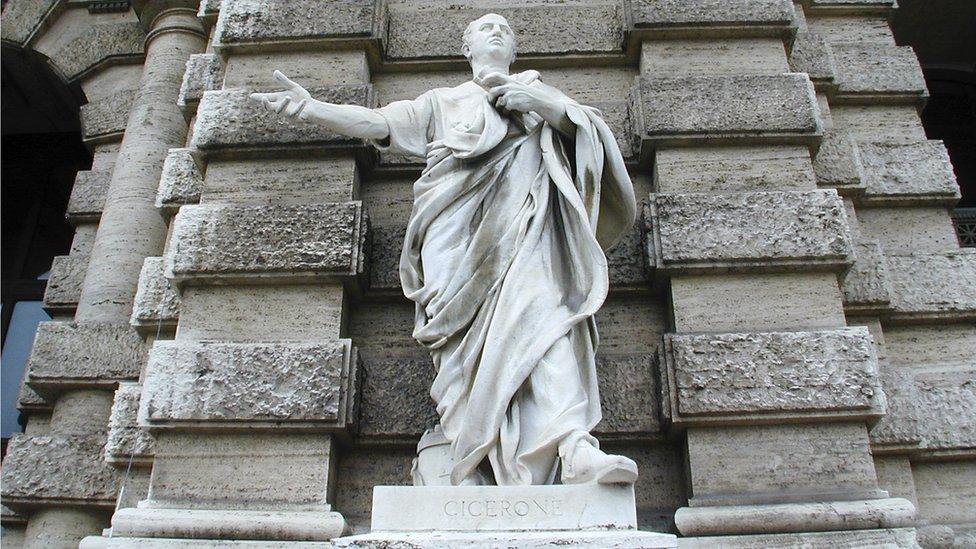 Statue of Marcus Tullius Cicero