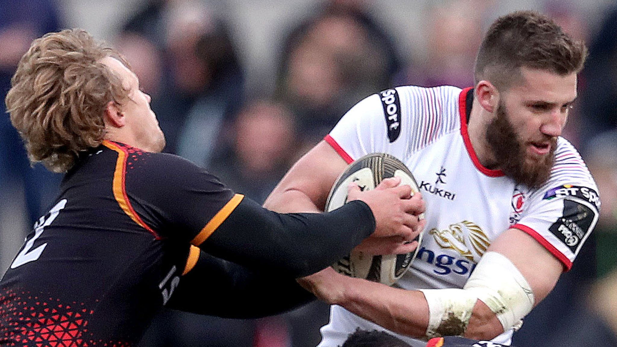 Ulster score five tries to see off Kings