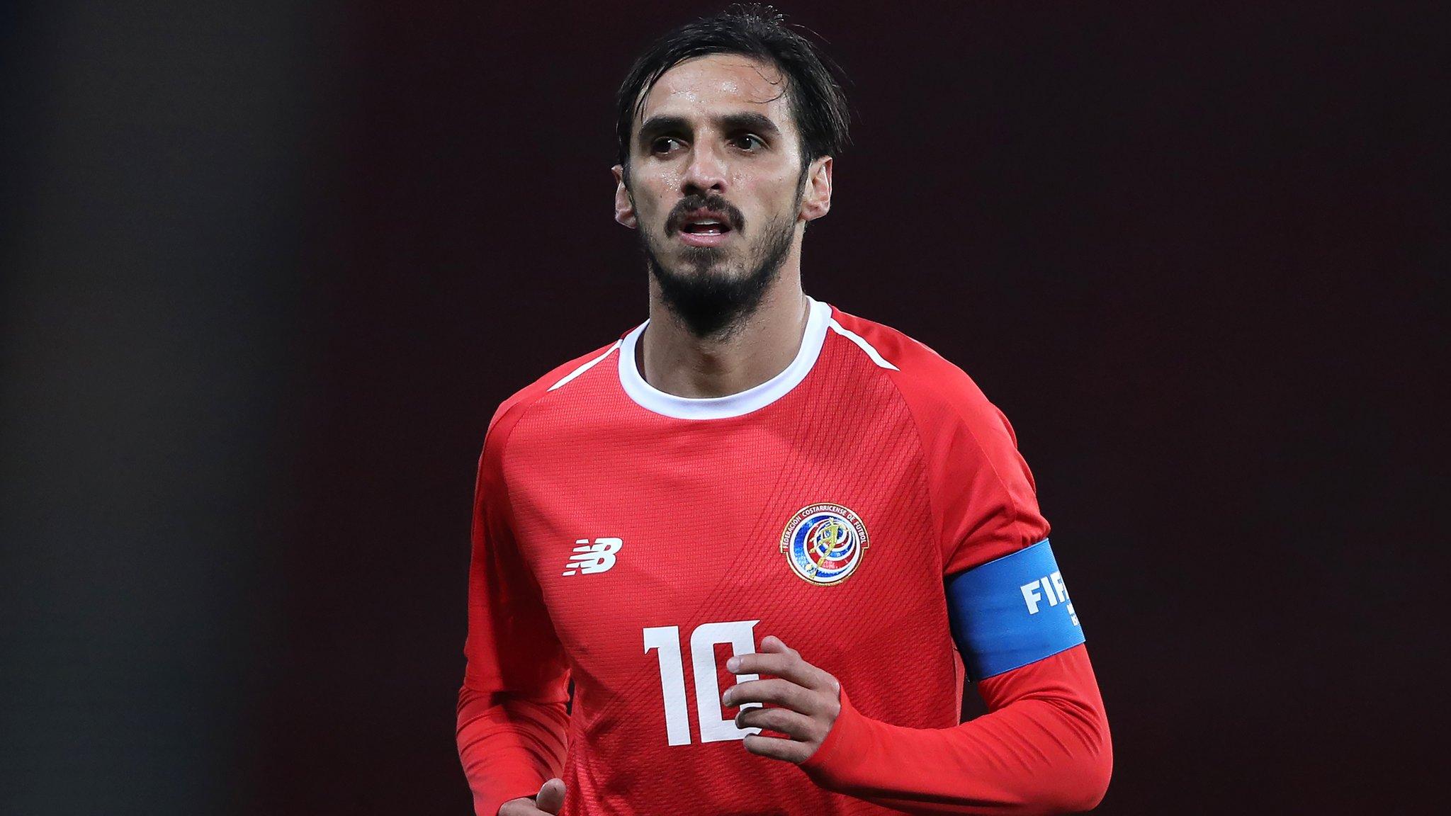 World Cup 2018: Bryan Ruiz to captain Costa Rica in Russia