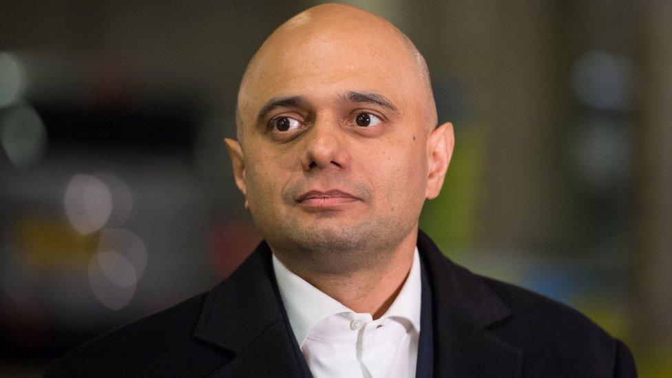El ministro del Interior británico, Sajid Javid