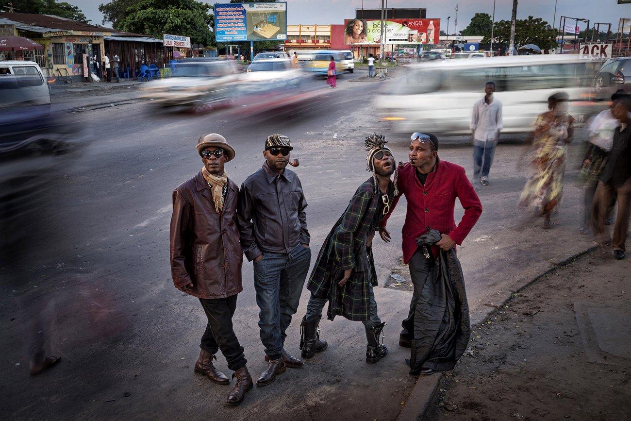 'Les Sapeurs' - Kinshasa, Democratic Republic of Congo