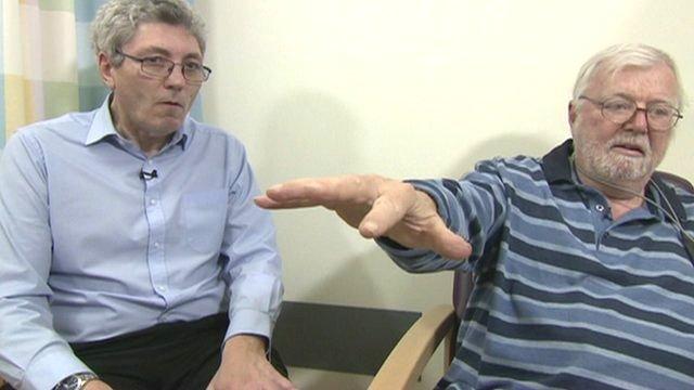 Paul Mayhew-Archer and Parkinson's patient