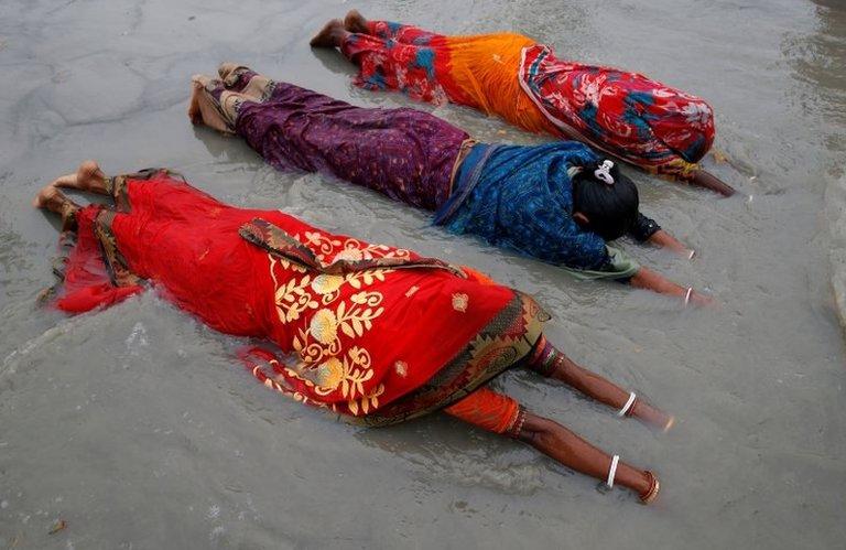 Hindu hacı adayları