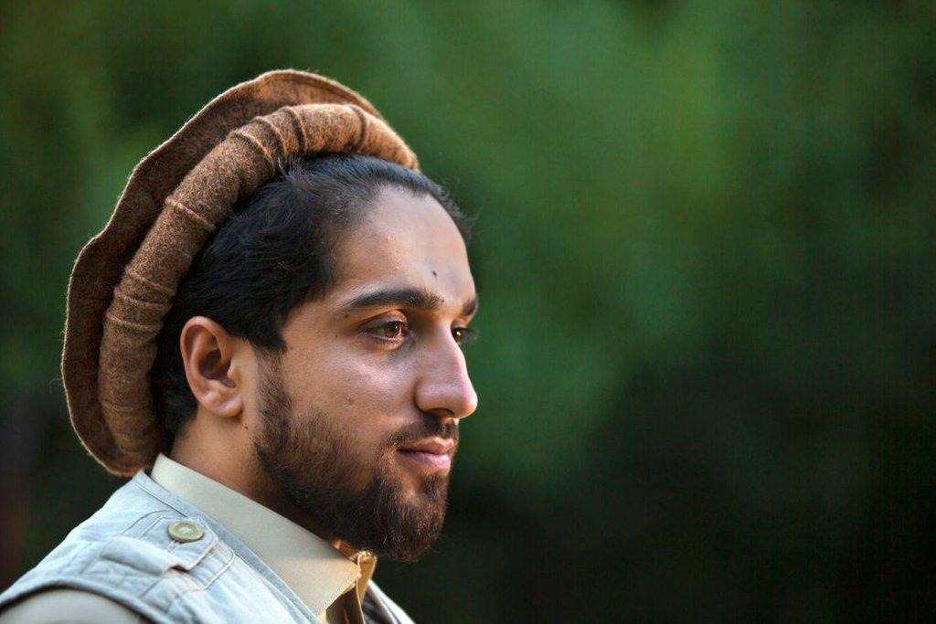 Ahmad Massoud in an image taken in September 2019