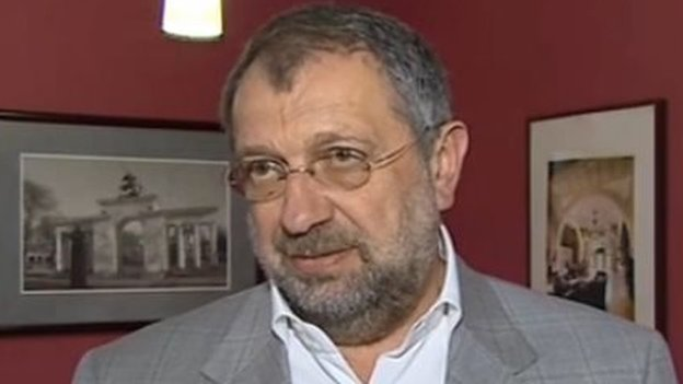 Screengrab of Russian independent MP Vladislav Reznik