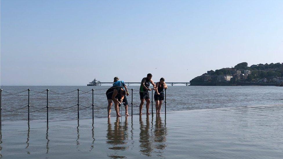 E. coli returns to Clevedon's Marine Lake