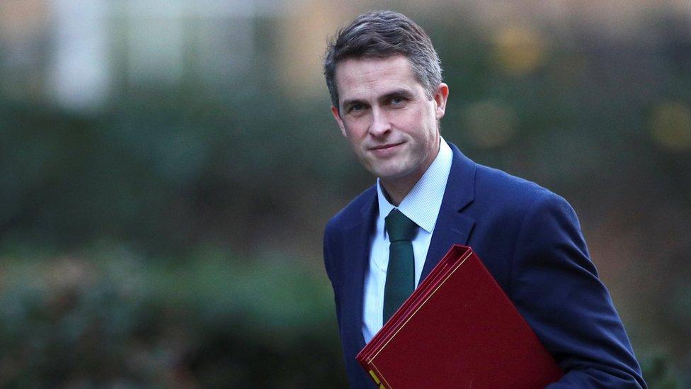 وزير الدفاع البريطاني، غافين ويليامسون