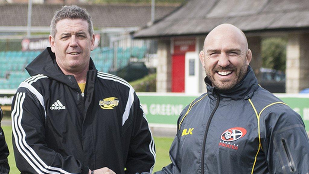 Chris Stirling will move Cornish Pirates forward says coach Alan Paver