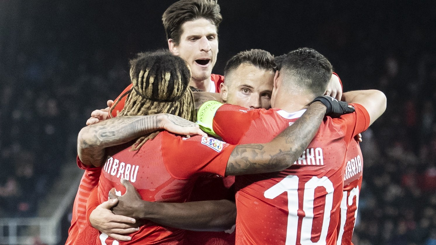 Switzerland 5-2 Belgium: Nations League comeback takes hosts into finals