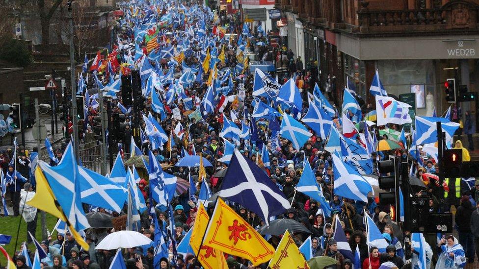 İskoçya bayrakları