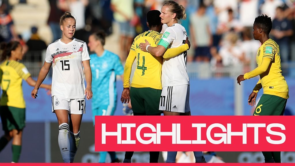 Women's World Cup 2019: Germany thrash South Africa 4-0 to reach the knockout stages