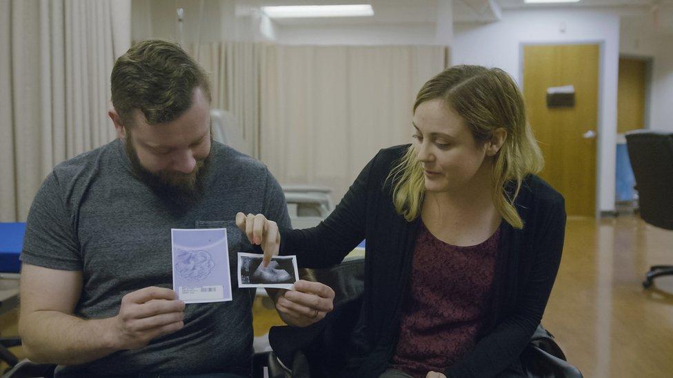 Drew y Jennifer
