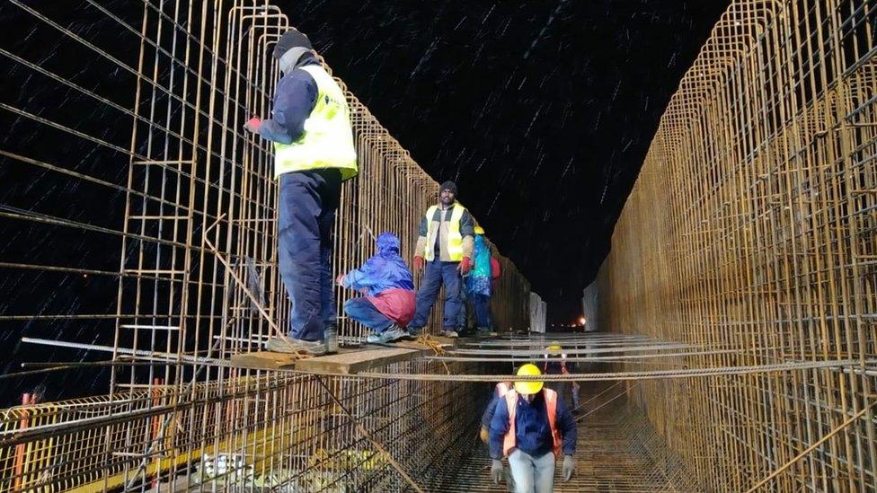 radnici iz indije vijadukt čortanovci sremski karlovci