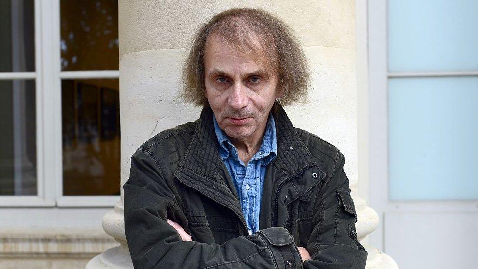 French author Michel Houellebecq