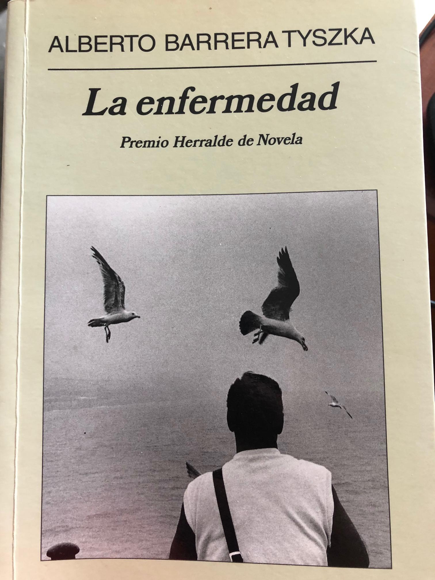 """Portada de """"La Enfermedad"""""""