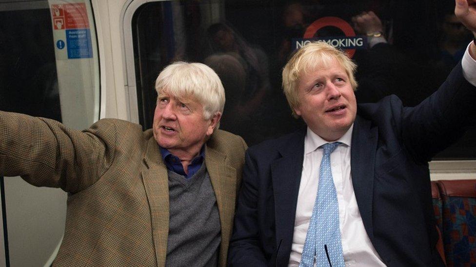 Stanley and Boris Johnson (2016)